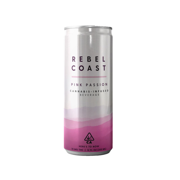 Rebel Coast - Cannabis-Infused Wine - Pink Passion