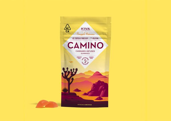 Product Alert:  Pineapple Habanero Flavored Camino Gummies by Kiva